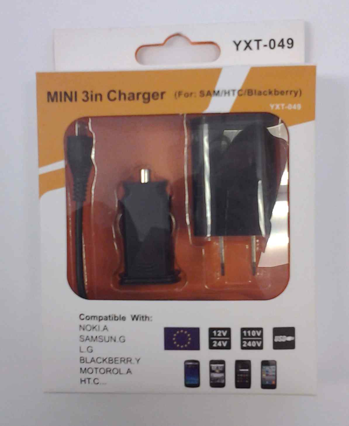 Samsung 3 in 1 Charger Black