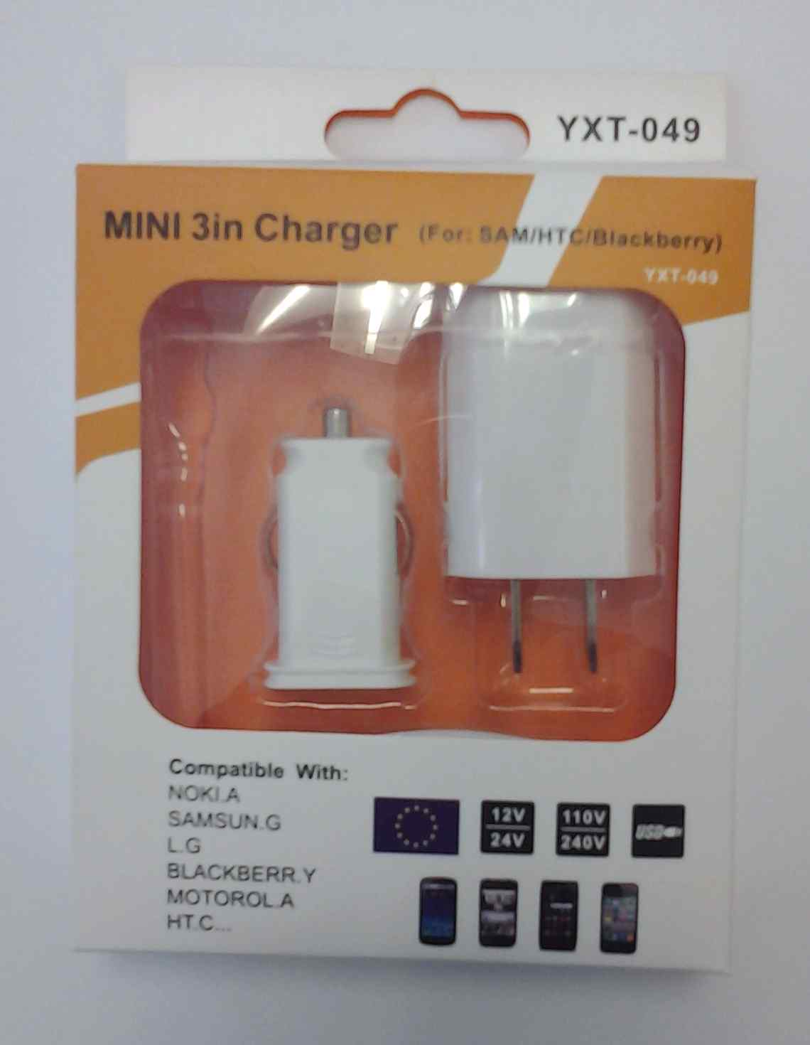 Samsung 3 in 1 Charger White